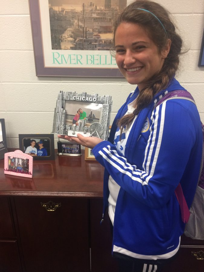 Family is a major proponent that inspires Dr. Renner to work hard. His office is littered with pictures of his family (PHOTO BY DEWEY)