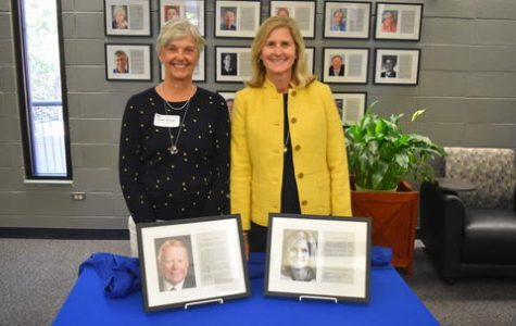 Susan Davis-Ali on the right (Picture by Mariemont Schools)