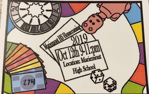 MHS Homecoming Ticket 2019.  Don't forget them!