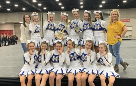 Cheer Squad Heads to Nationals in Orlando