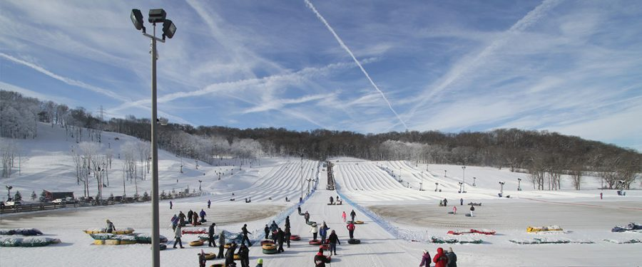 Perfect North slopes and tubing hill (PHOTO From https://www.perfectnorth.com/snow-tubing-tickets)