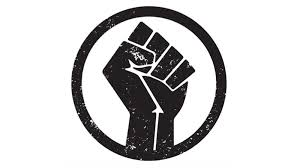 Black Lives Matter logo, commonly seen on protest signs (PHOTO FROM https://everythinggp.com/2020/06/05/black-lives-matter-protest-to-go-in-grande-prairie-on-saturday/)