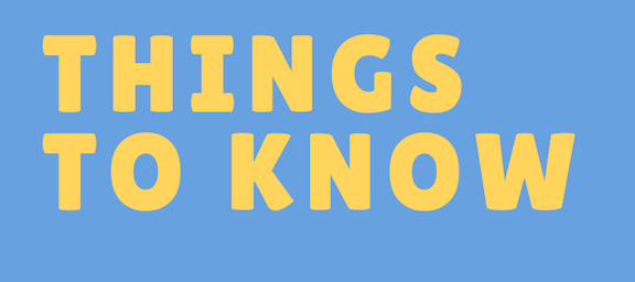 Things to Know 2/22-2/28
