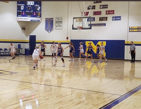 (PHOTO BY @mmontad ON TWITTER) Girls Basketball v. Madeira